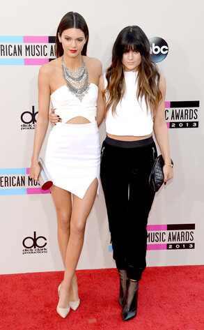 Kendall Jenner, Kylie Jenner, American Music Awards