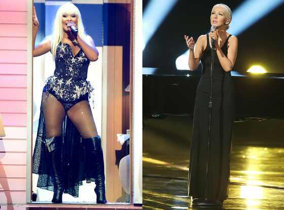 Christina Aguilera, AMAs, Split