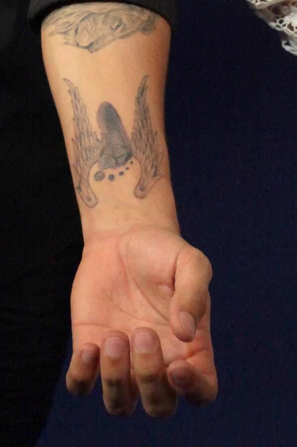 Caio Castro tatuagem filha