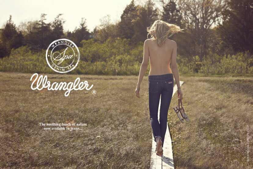 Jeans anti celulite Wrangler