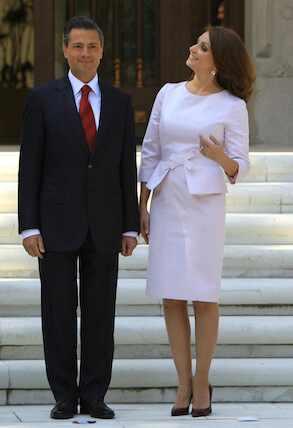 Enrique Peña Nieto, Angélica Rivera