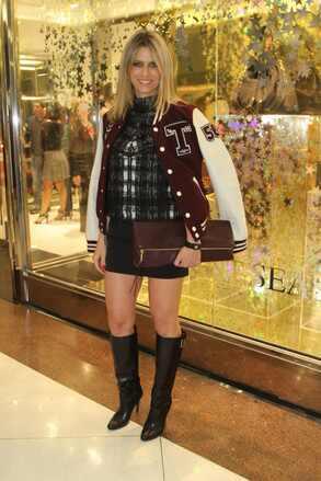 Didi Wagner na inauguração da Riachuelo Flagship Store