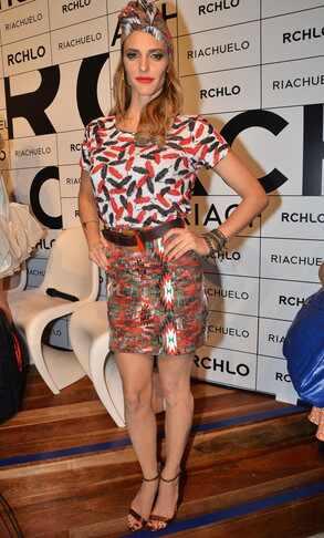 Fernanda Lima na inauguração da Riachuelo Flagship Store