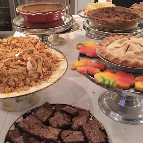 Kardashian, Jenner Family Thanksgiving Day Menu