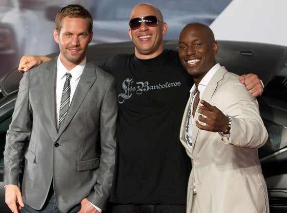 Paul Walker, Vin Diesel, Tyrese Gibson