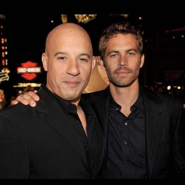 Vin Diesel, Paul Walker, Instagram
