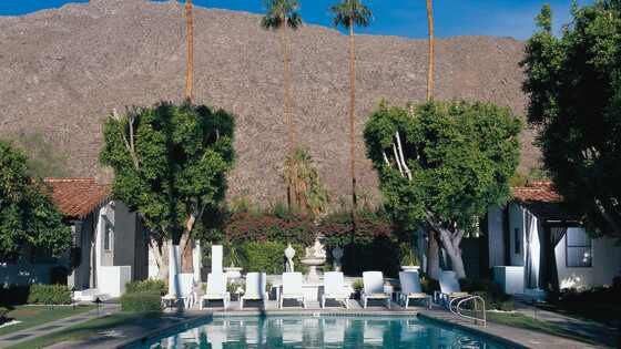 Robert Pattinson e Kristen Stewart hotel Palm Springs