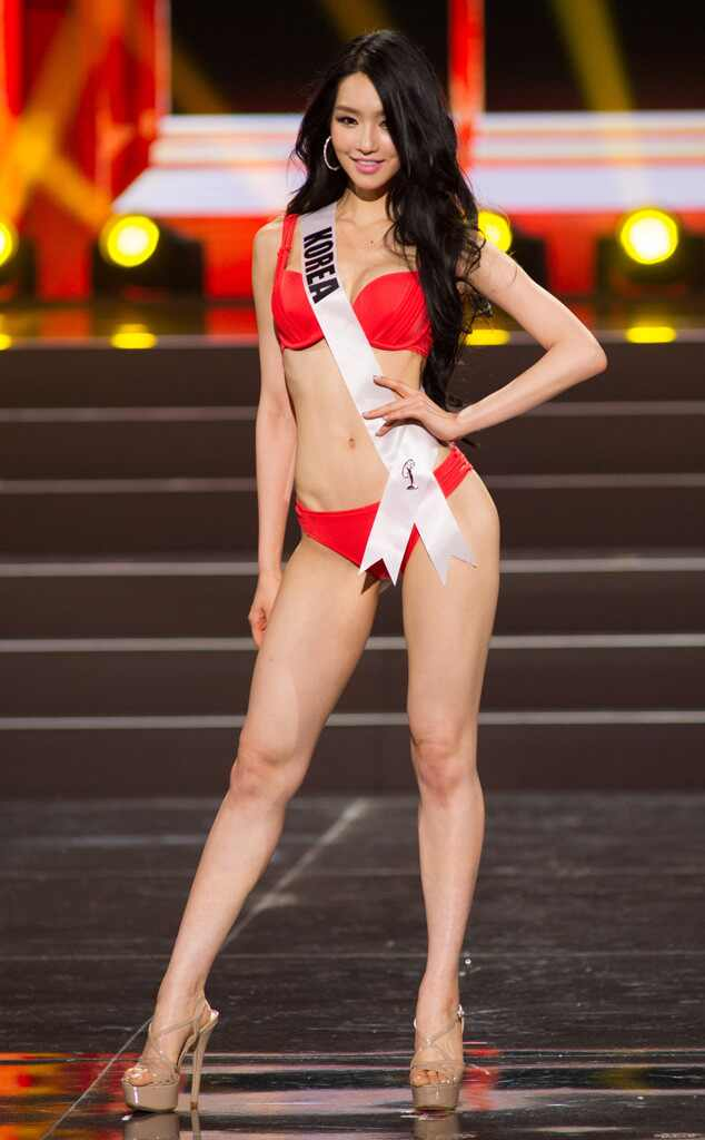 Miss Korea From 2013 Miss Universe Swimsuit Competition E News Uk