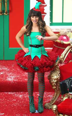 Lea Michele, Glee, Christmas