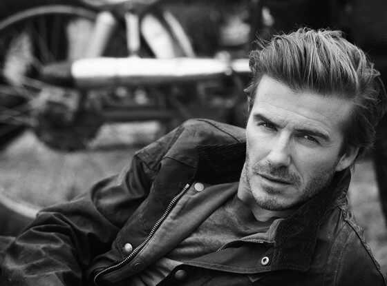 David Beckham, Belstaff