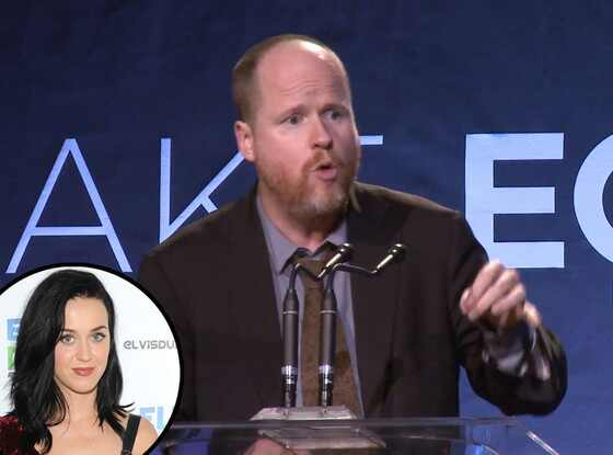 Joss Whedon, Katy Perry