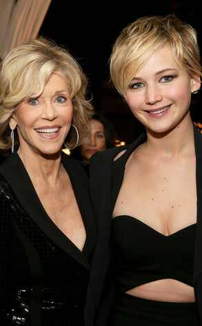 Jane Fonda, Jennifer Lawrence
