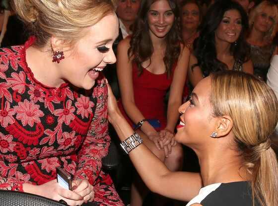 Adele tem a melhor reação ao show de Beyoncé no Coachella