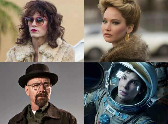 Dallas Buyers Club, American Hustle, Breaking Bad, Gravity