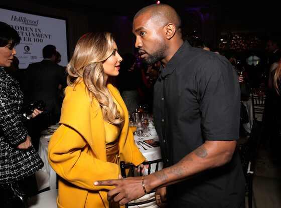 Kim Kardashian, Kanye West, THR