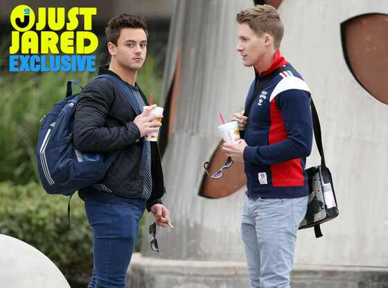 Olympic Diver Tom Daley, Dustin Lance Black