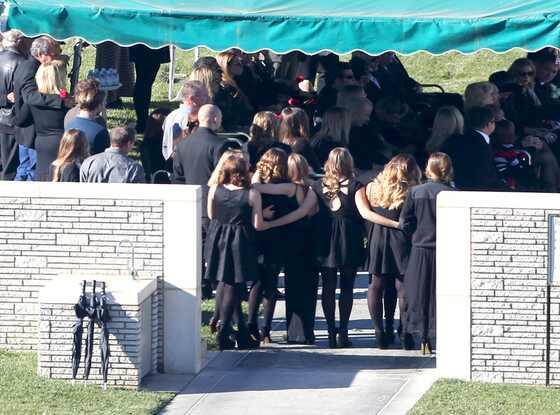 Paul Walker Funeral