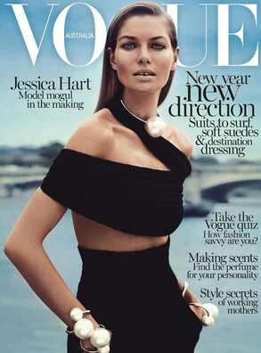 Jessica Hart, Vogue Australia