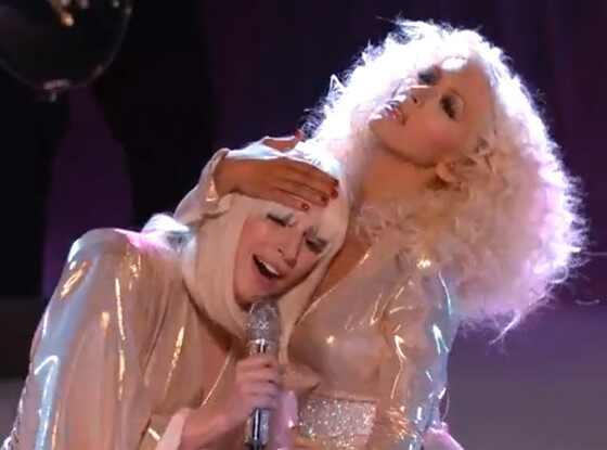 Lady Gaga, Christina Aguilera, The Voice