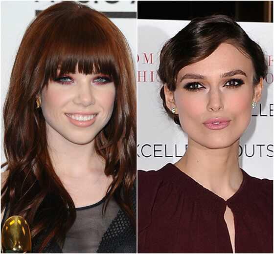 Carly Rae Jepsen, Keira Knightley, celebridades idade