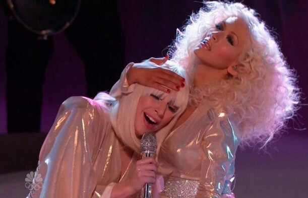 Lady Gaga, Christina Aguilera, The Voice