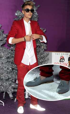 Justin Bieber, Shoes