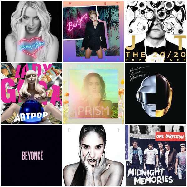 Melhores CDs pop 2013