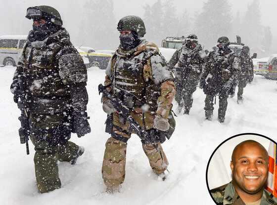 Christopher Dorner, SWAT Team, Big Bear