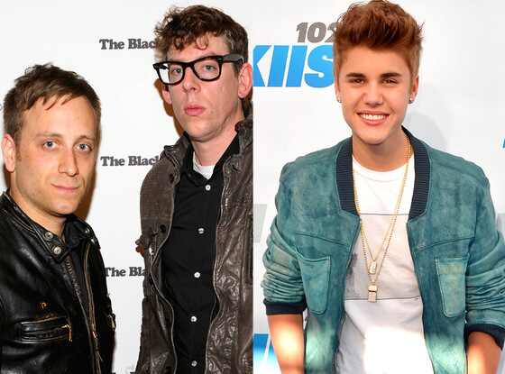 Dan Auerbach, Patrick Carney, The Black Keys, Justin Bieber