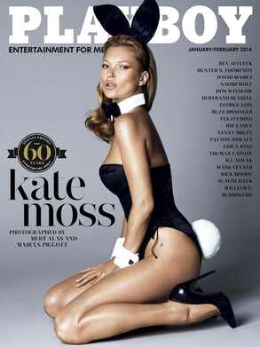 Kate Moss, Playboy, Cover