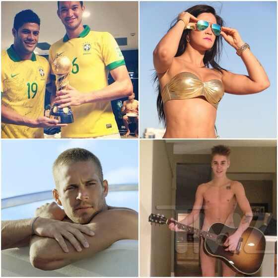 Tati Neves, Justin Bieber, Paul Walker, Diego Cavalieiri