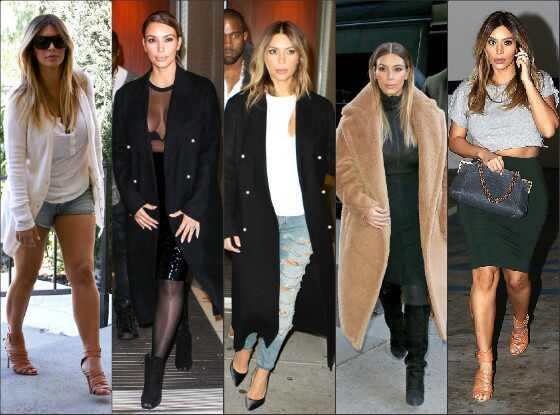 Top bem vestida Kim Kardashian
