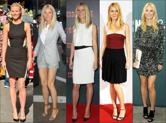 Top bem vestida Gwyneth Paltrow