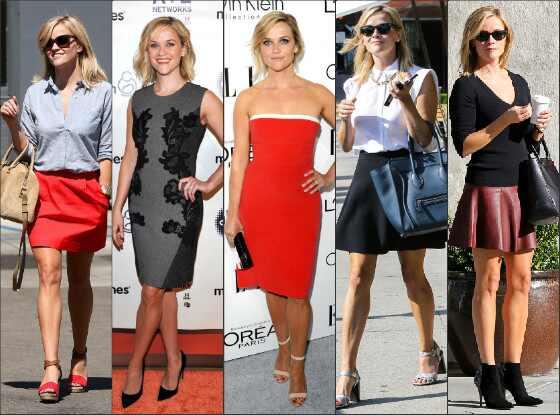 Top bem vestida Reese Witherspoon