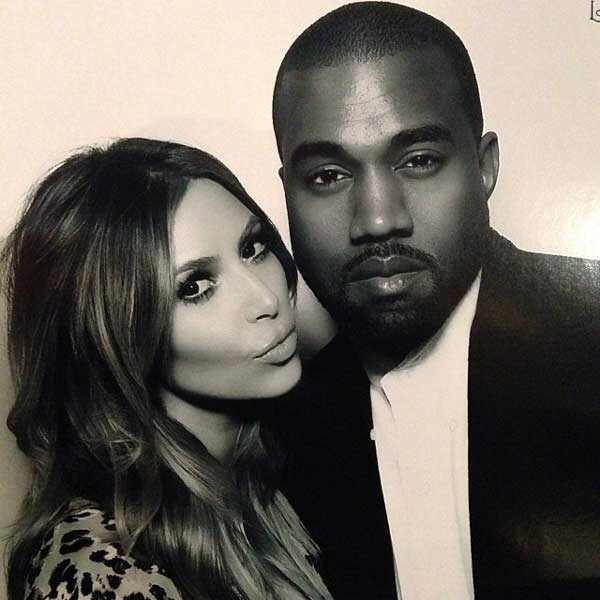Kim Kardashian, Kanye West, Jenner Christmas Party