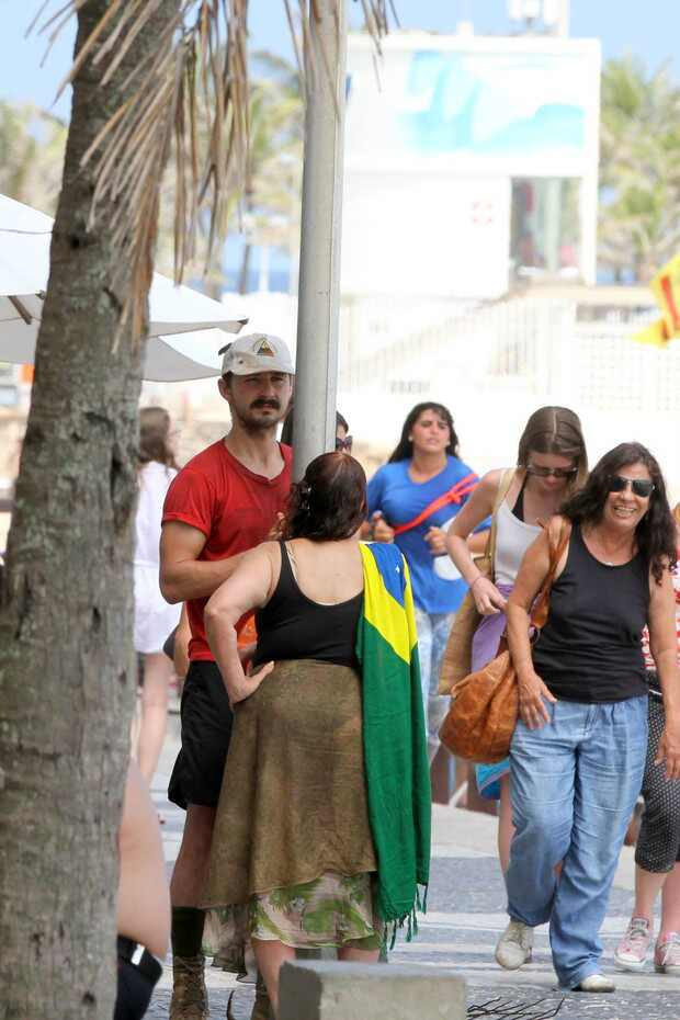 Shia LaBeouf de Transformers no Brasil