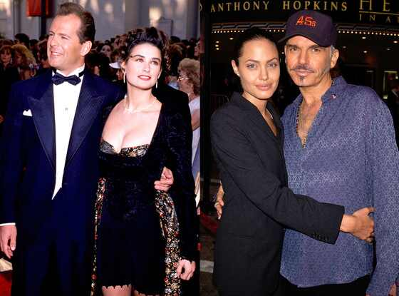 billy bob thornton and angelina jolie relationship with women
