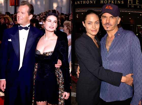 Angeline Jolie, Billy Bob Thorton, Bruce Willis, Demi Moore