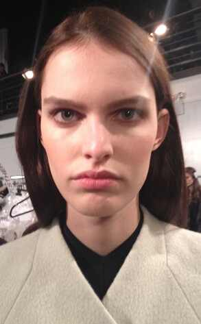 Shiseido Makeup, Narciso Rodriguez Model