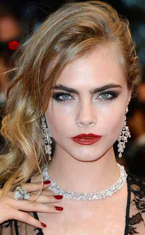 Cara Delevingne, Best Beauty Looks 2013