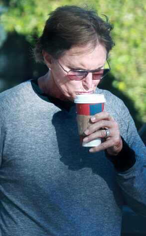Bruce Jenner, Starbucks Holiday Red Cups
