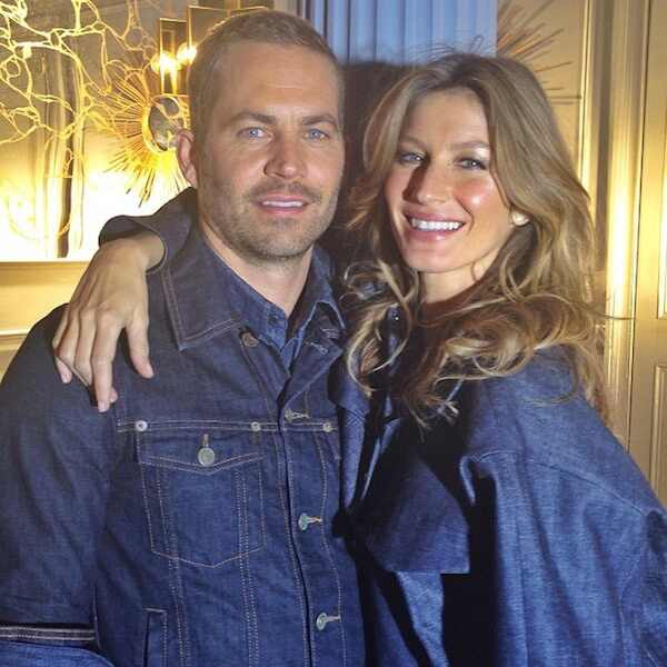 Gisele Bundchen e Paul Walker