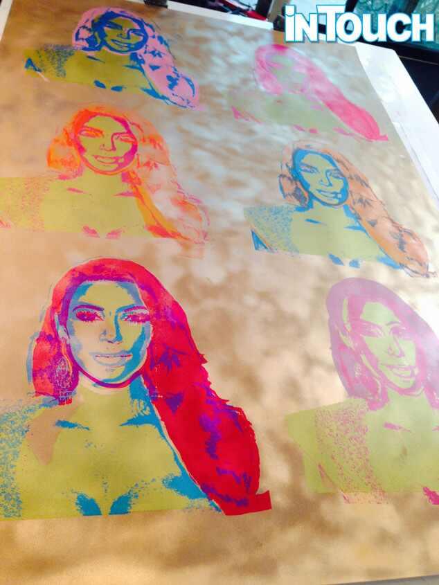 Kim Kardashian, In Touch, Warhol