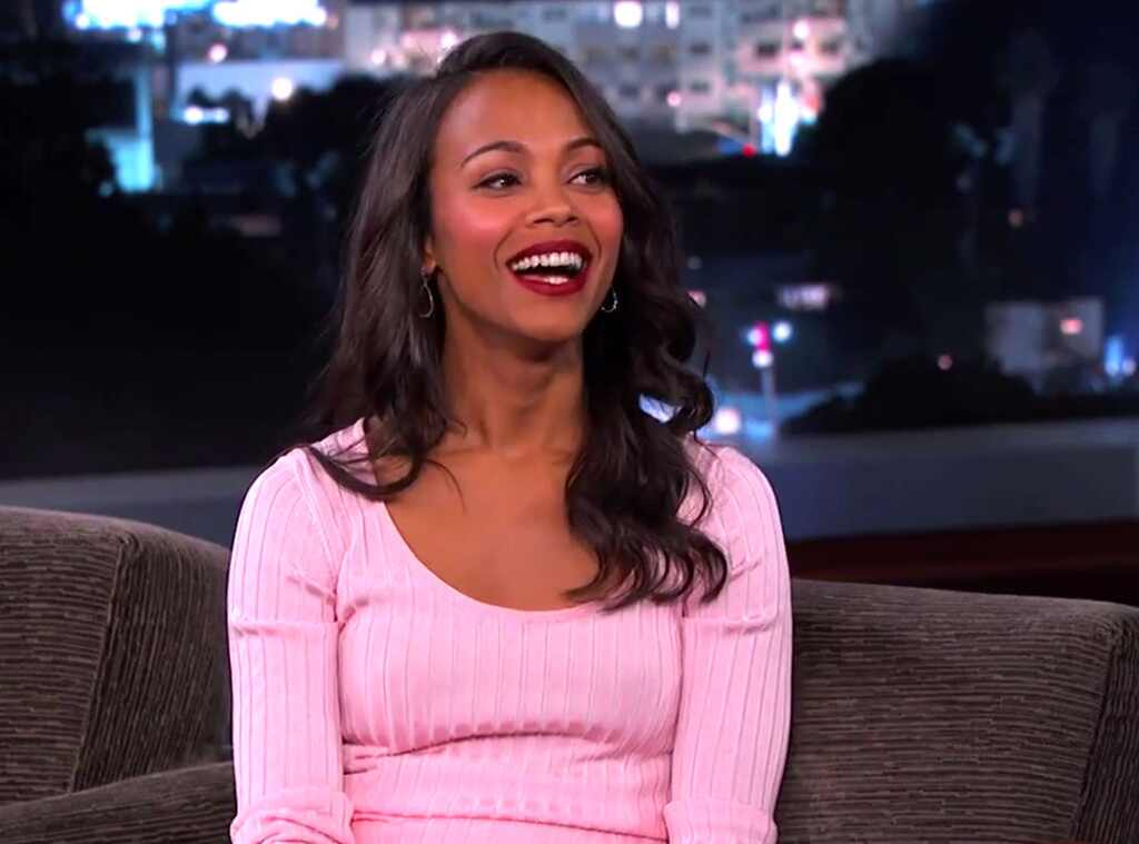Zoe Saldana Opens Up About Her Secret Wedding To Marco Perego