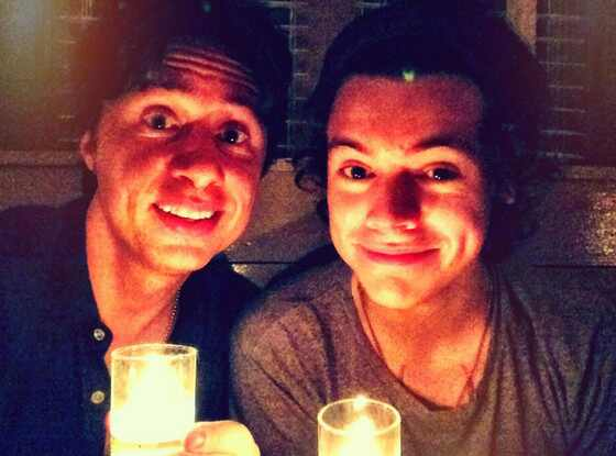 Harry Styles, Zach Braff, Twit Pic