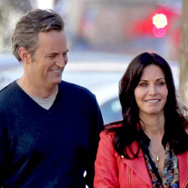 Image Gallery matthew perry courteney cox