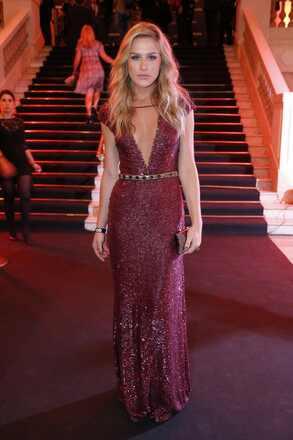 Fiorella Mattheis no red carpet