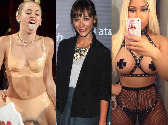 Miley Cyrus, Rashida Jones, Nicki Minaj