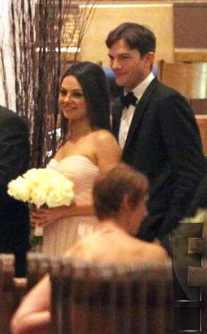 Ashton Kutcher, Mila Kunis, Embargoed Until 3pm 12.08.13