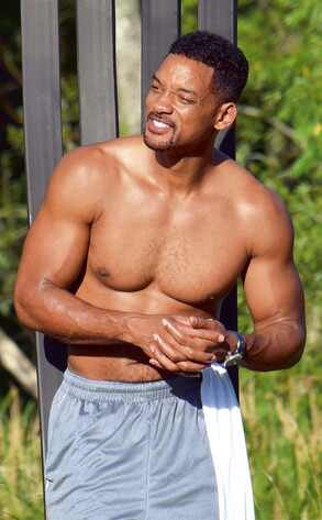 Will Smith, Shirtless